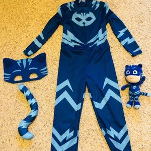 Costumes - PJ MASKS CATBOY COSTUME 4-6 & CATBOY BEAN PLUSH